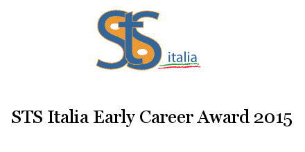 STS Italia Early Career Award 2015