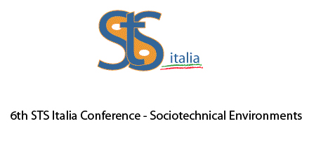 6th STS Italia Conference – Sociotechnical Environments