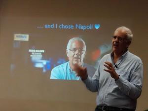 Prof. Bruno Siciliano (University of Napoli), speech about Advances in Surgical Robotics