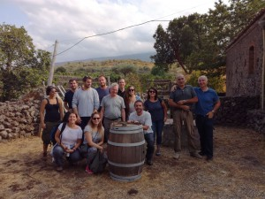 Visit to the vineyards Valcerasa at Crucimonaci with Rosario Pappalardo
