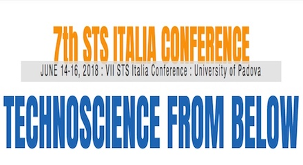 Technoscience from Below – CALL FOR TRACKS of the 7th STS Italia Conference
