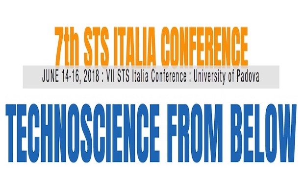 Technoscience from Below – CALL FOR CALL FOR ABSTRACTS of the 7th STS Italia Conference