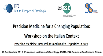Workshop | Precision Medicine for a Changing Population